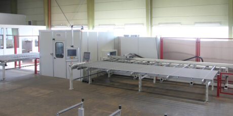 Bearbeitungszentrum für Aluminiumprofile